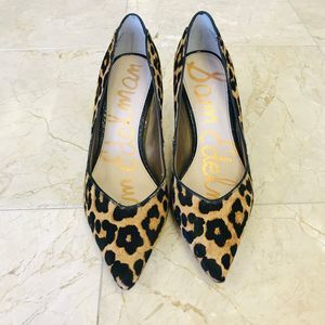 Sam Edelman Orela high heels leopard print shoes